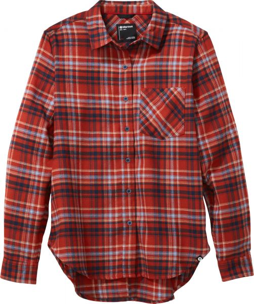Wm's Maggie Midweight Flannel Long Sleeve