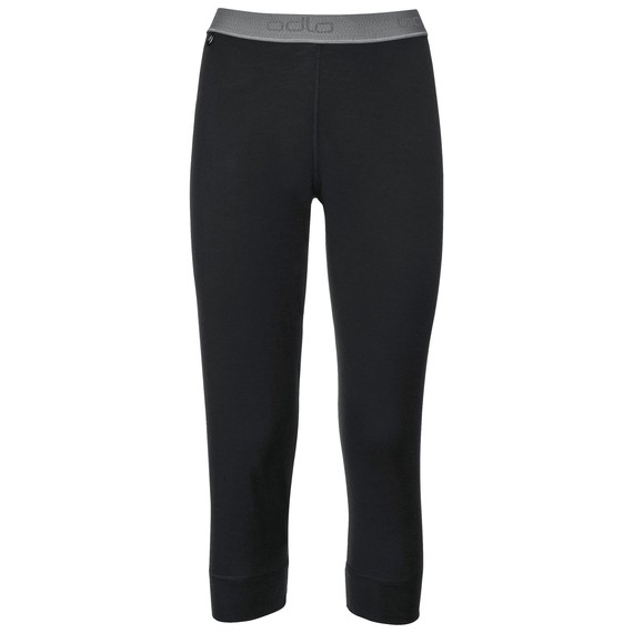 Pants 3/4 Natural 100% Merino Warm Women