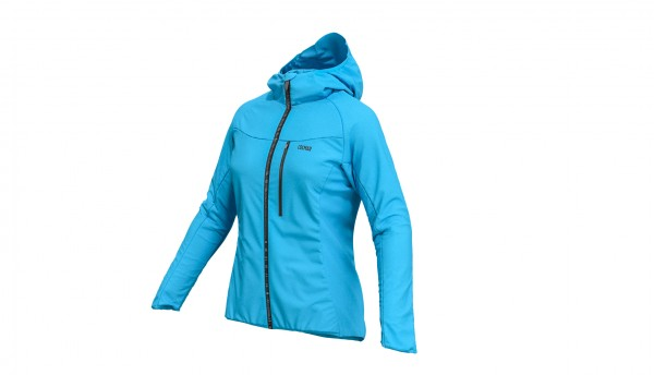 Hooded Packable Windbreaker Lady Jacket