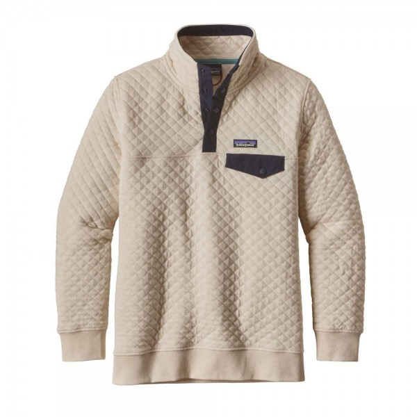 W's Cotton Quilt Snap-T Pullover