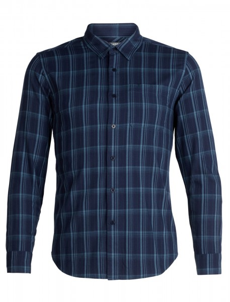 Mens Compass Flannel LS Shirt