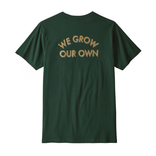 M's Grow Our Own Organic Pocket T-Shirt
