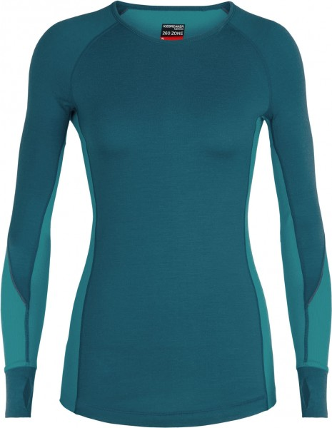 Wmns 260 Zone Long Sleeve Crewe